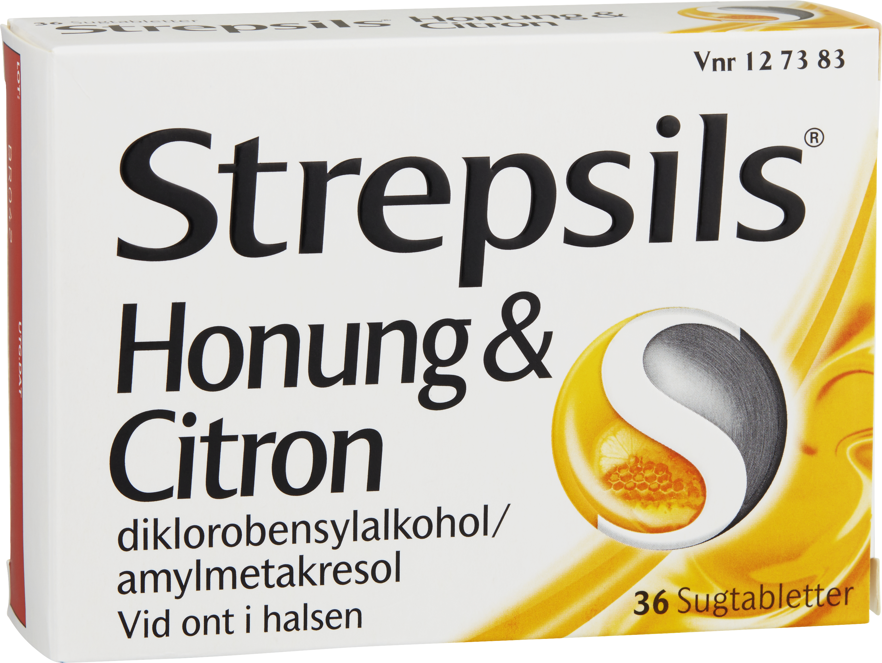 Strepsils Honung & Citron sugtablett 36 st