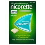 Nicorette medicinskt tuggummi 2 mg 105 st