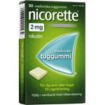 Nicorette medicinskt tuggummi 2 mg 30 st