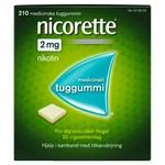 Nicorette medicinskt tuggummi 2 mg 210 st