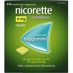 Nicorette medicinskt tuggummi 4 mg 210 st