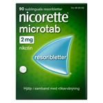 Nicorette Microtab resoriblett 2 mg 90 st