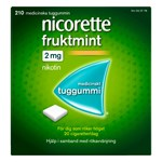 Nicorette Fruktmint medicinskt tuggummi 2 mg 210 st