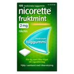 Nicorette Fruktmint medicinskt tuggummi 2 mg 105 st