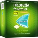 Nicorette Fruktmint medicinskt tuggummi 4 mg 210 st