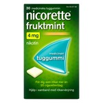 Nicorette Fruktmint medicinskt tuggummi 4 mg 30 st