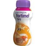Fortimel Jucy klar, glutenfri, energitillskott vid fettintolerans apelsin 4x200milliliter