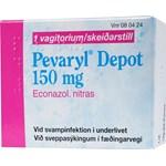 Pevaryl Depot vagitorium 150 mg 1 st