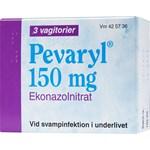 Pevaryl vagitorium 150 mg 3 st
