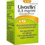 Livostin ögondroppar 0,5 mg/ml 4 ml