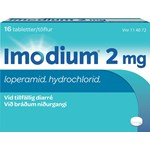 Imodium tablett 2 mg 16 st