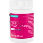 Fludent hallon sugtablett 0,25 mg 200 st