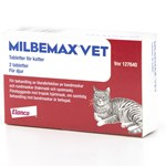 Milbemax vet. för katter tablett 2 st