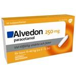 Alvedon suppositorium 250 mg 10 st