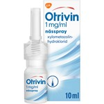 Otrivin nässpray 1 mg/ml 10 ml