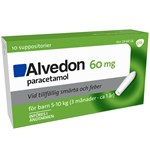 Alvedon suppositorium 60 mg 10 st