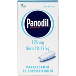 Panodil suppositorium 125 mg 10 st