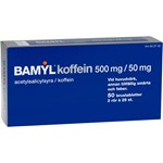 Bamyl koffein brustablett 500 mg/50 mg 2 x 25 st