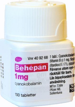 alla vitaminer i en tablett