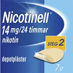 Nicotinell depotplåster 14 mg/24 timmar 7 st