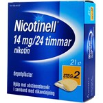 Nicotinell depotplåster 14 mg/24 timmar 21 st