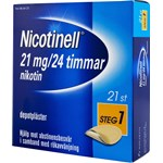 Nicotinell depotplåster 21 mg/24 timmar 21 st