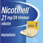 Nicotinell depotplåster 21 mg/24 timmar 7 st