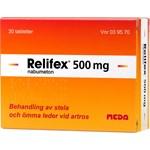 Relifex 500 mg filmdragerad tablett 30 st
