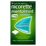 Nicorette Mentolmint medicinskt tuggummi 2 mg 210 st
