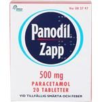 Panodil Zapp filmdragerad tablett 500 mg 20 st