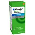 Alvedon oral lösning 24 mg/ml 100 ml