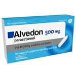 Alvedon suppositorium 500 mg 10 st