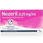 Nezeril näsdroppar endosbehållare 0,25 mg/ml 2 x 10 x 0,1 ml