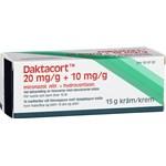 Daktacort kräm 20 mg/g + 10 mg/g 15 g