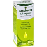 Laxoberal orala droppar 7,5 mg/ml 30 ml