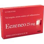 Eeze neo filmdragerad tablett 25 mg 10 st