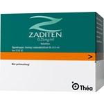 Zaditen ögondroppar lösning i endosbehållare 0,25 mg/ml 60x0,4 ml