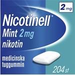 Nicotinell Mint medicinskt tuggummi 2 mg 204 st