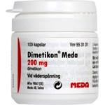 Dimetikon Meda mjuk kapsel 200 mg 100 st