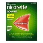 Nicorette Novum nikotinplåster 15 mg/16 timmar 14 st