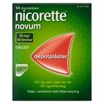 Nicorette Novum depotplåster 25 mg/16 timmar 14 st