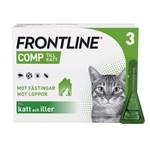 Frontline Comp Spot-on lösning för katt 50 mg/60 mg 3 x 0,5 ml