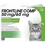 Frontline Comp Spot-on lösning för katt 50 mg/60 mg 3 x 0,5 ml