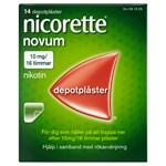 Nicorette Novum nikotinplåster 10 mg/16 timmar 14 st
