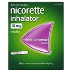Nicorette Inhalator inhalationsånga 10 mg 42 st