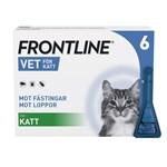 Frontline Vet. Spot-on lösning för katt 100 mg/ml 6 x 0,5 ml