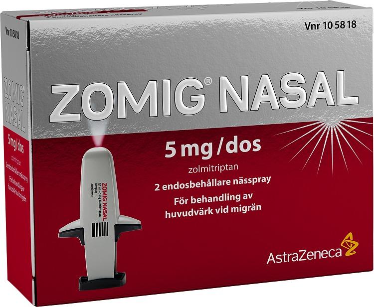 nässpray mot migrän