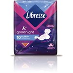 Libresse Ultra Thin Goodnight Wings 10 st