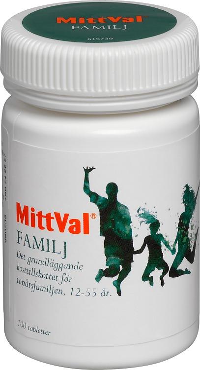 multivitamin familj