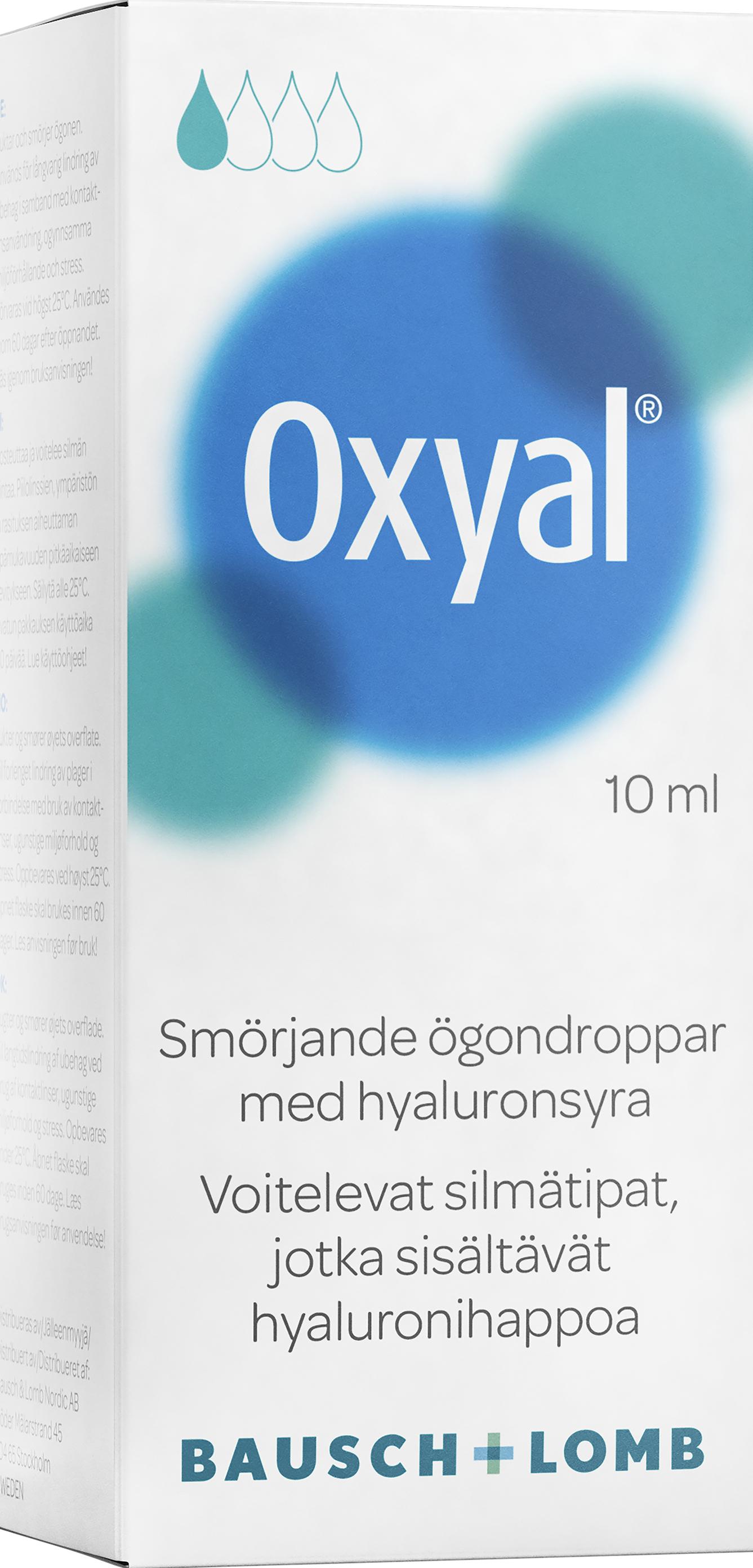 Oxyal ögondroppar 3 ml